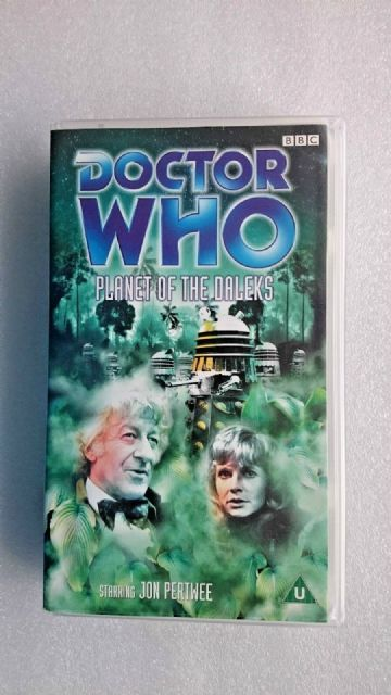 Doctor Who Planet of the Daleks (VHS 1999)